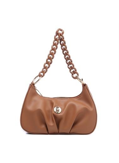 TH Bags Kadın Omuz Çantası TH-DR070800 Taba